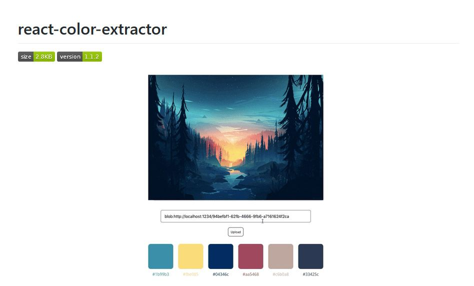 Color extraction