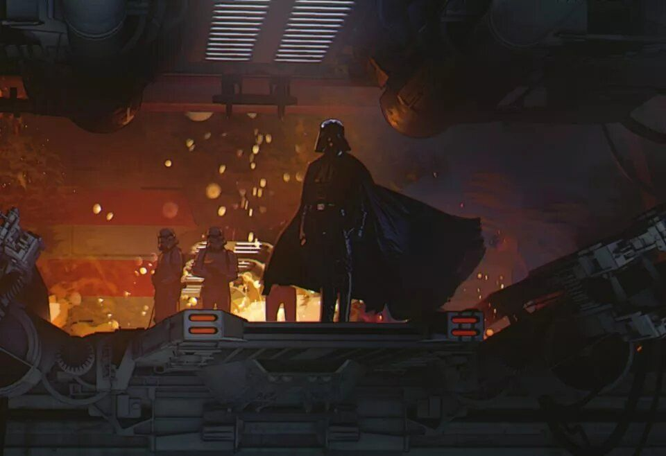Concept art Star Wars