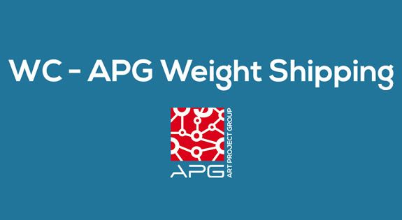 APG Weight Shipping woocommerce plugin