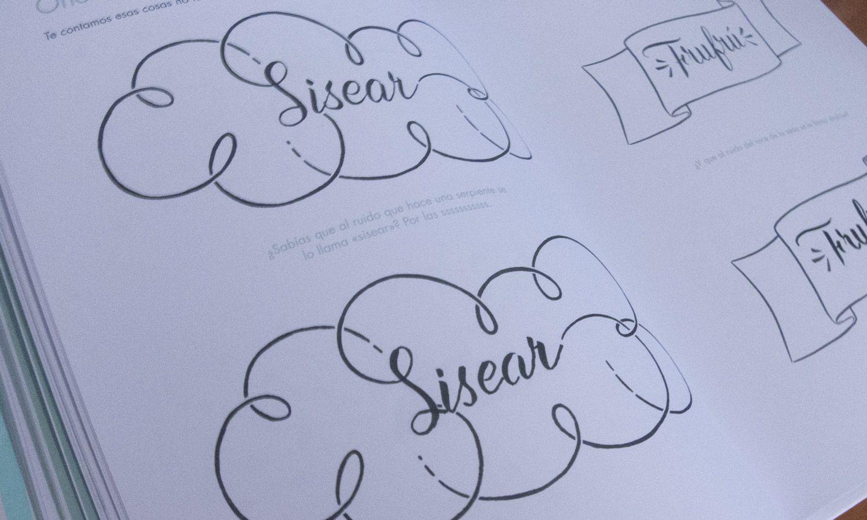 caligrafia rubio lettering