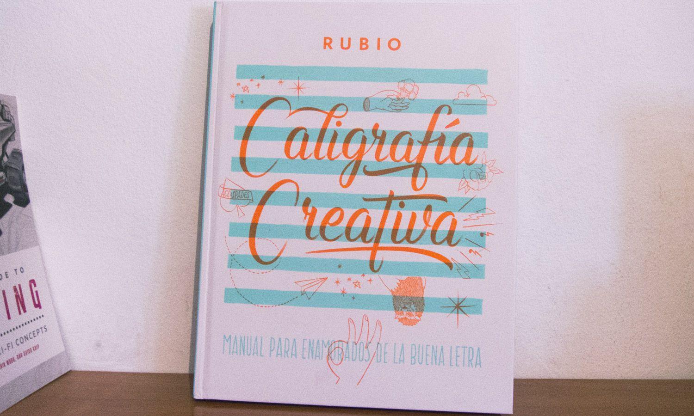 libro caligrafía rubio