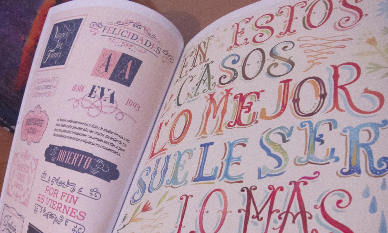 libro para aprender lettering