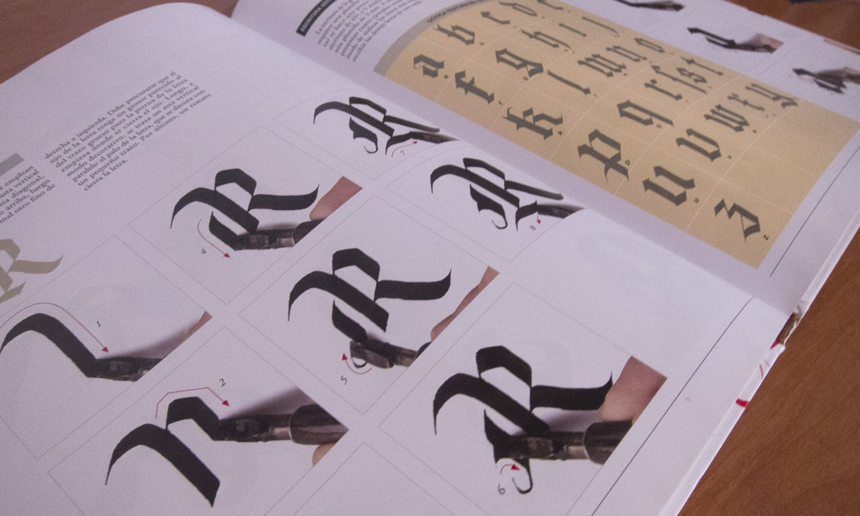 libro caligrafía