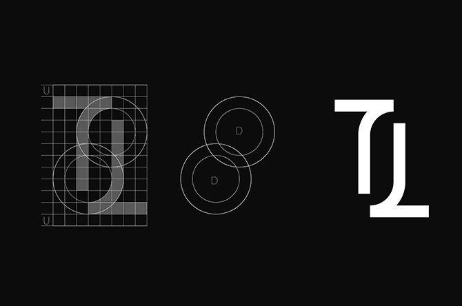 Curso diseño logotipo/icono retículo