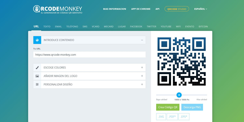 QR Code monkey