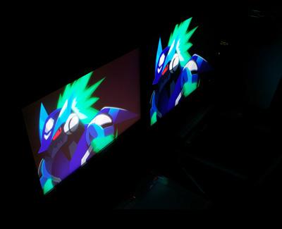Panel de monitores