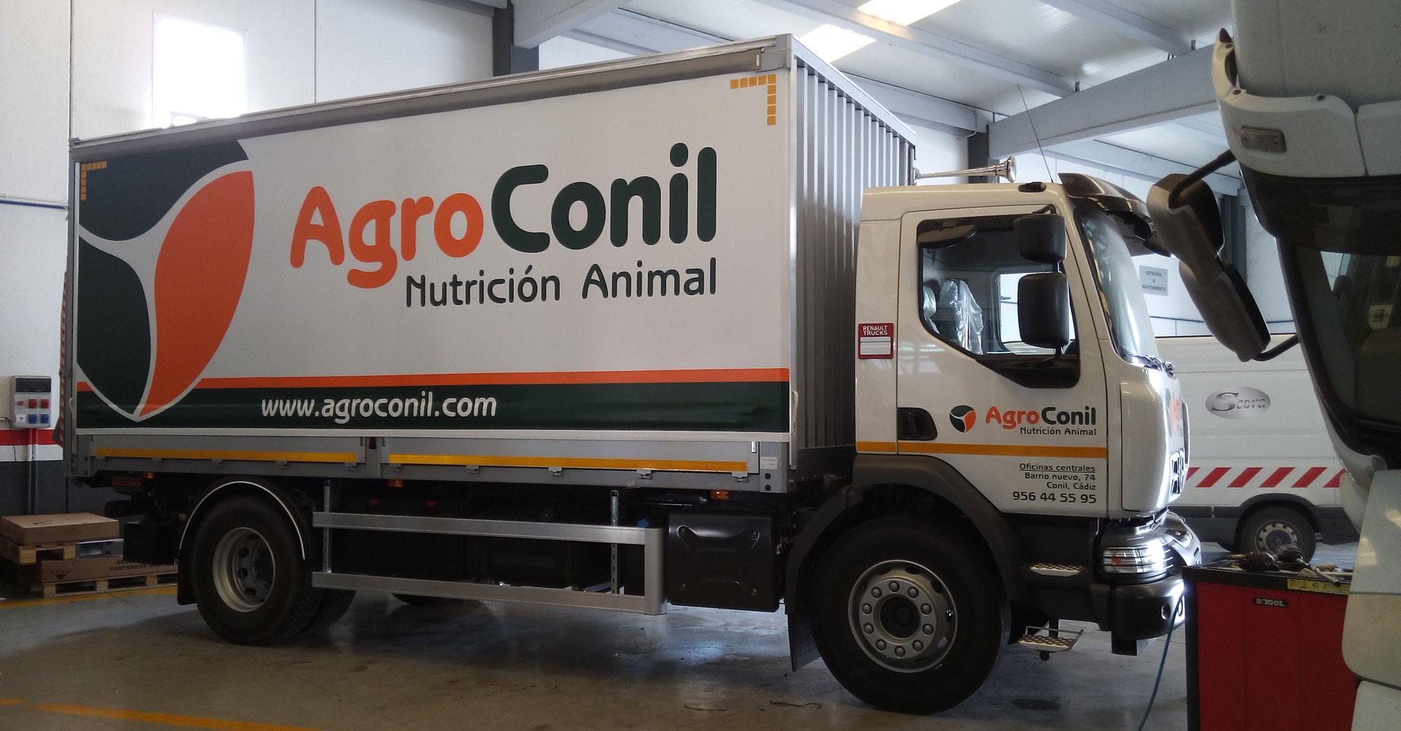 Agroconil truck