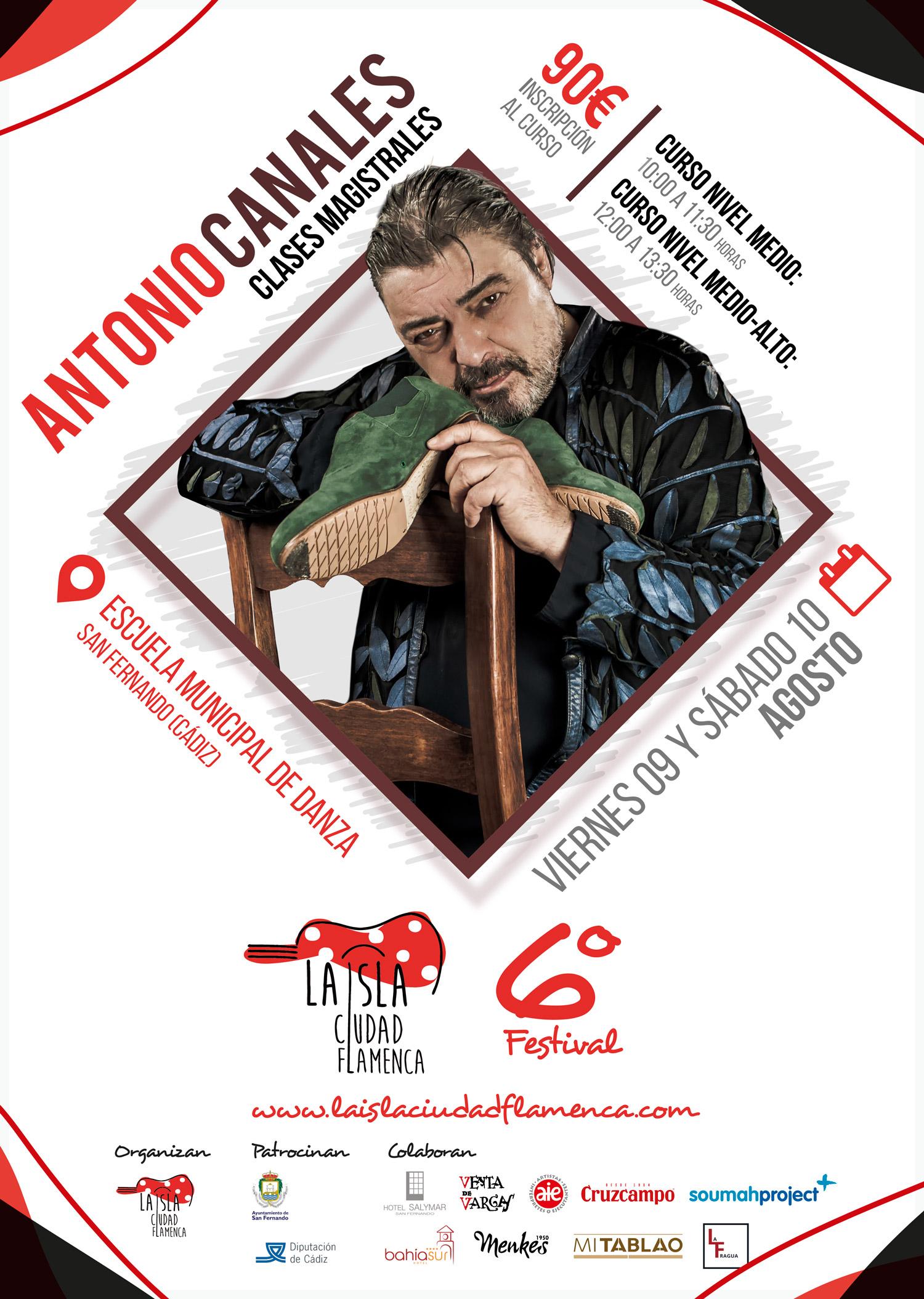 Cartel Antonio Canales