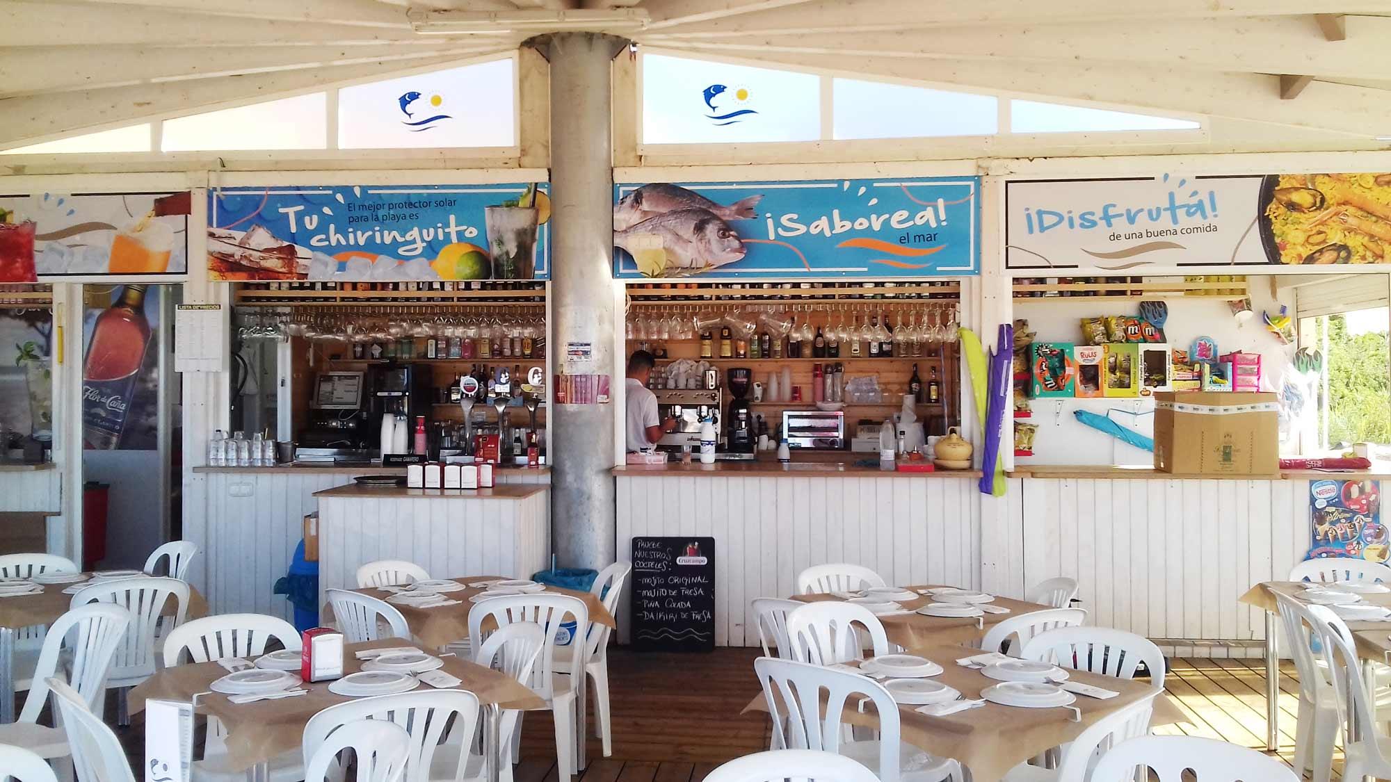 Summer bar Fuente del Gallo