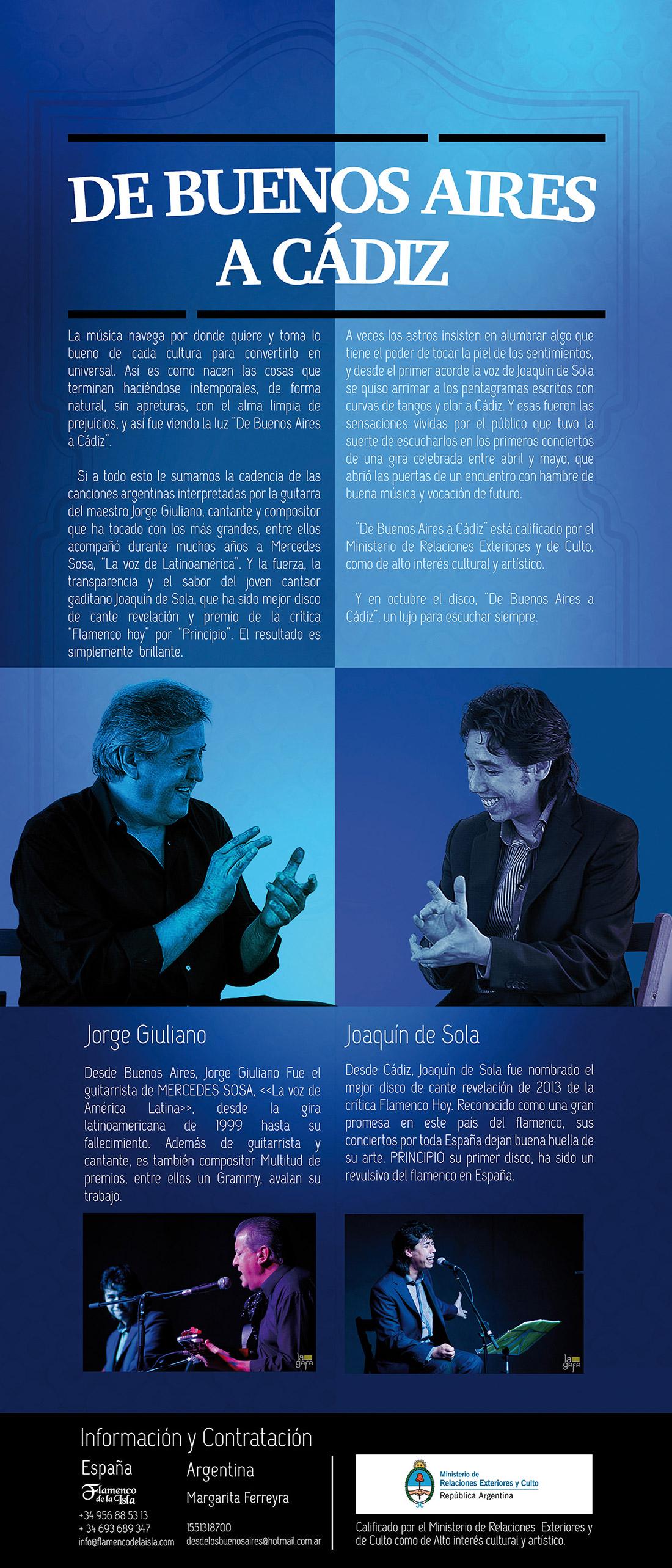 De Buenos Aires a C�diz