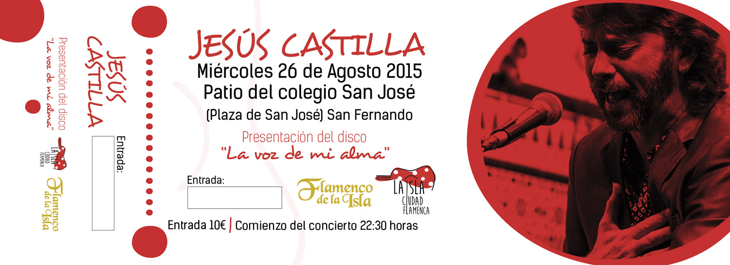 Ticket for Jes�s Castilla show