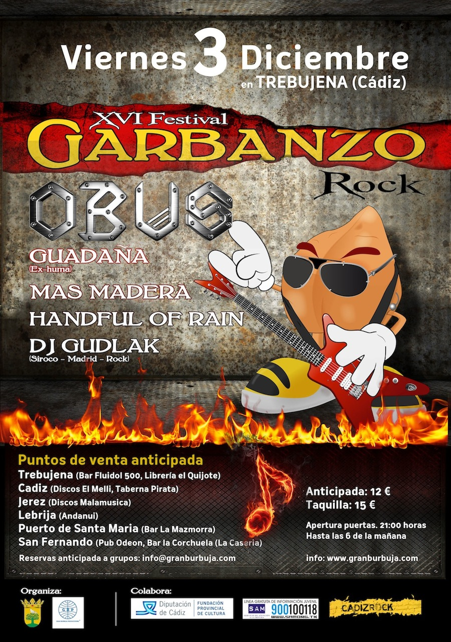 Cartel Festival Garbanzo Rock