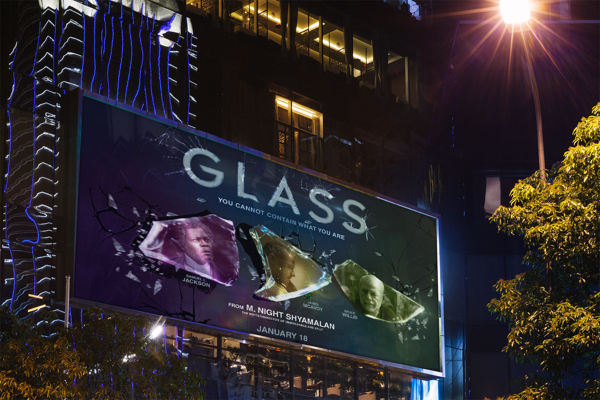 Poster Glass movie