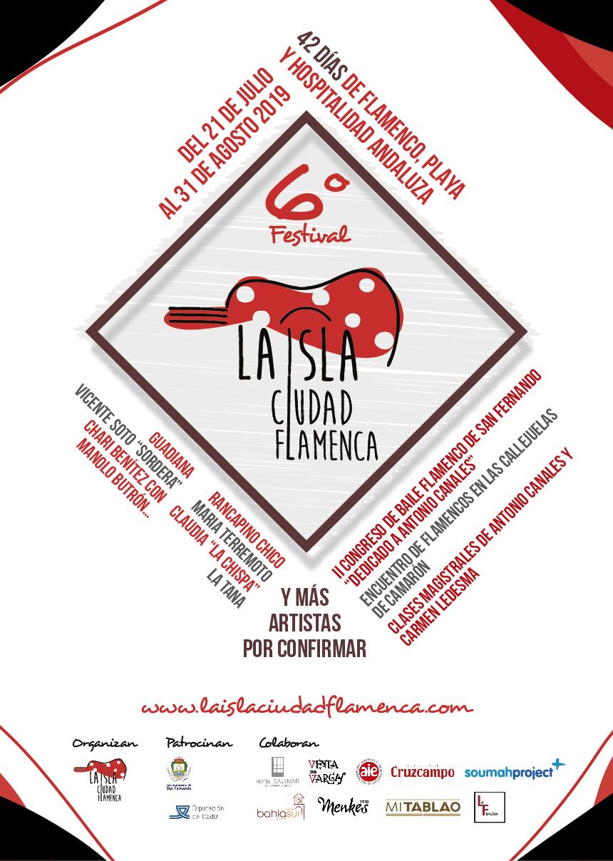 La isla ciudad flamenca cartel
