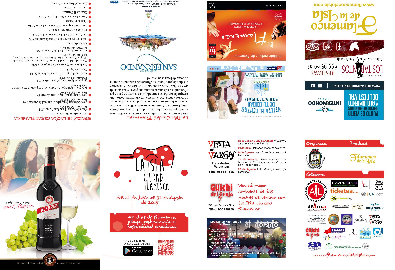 Programa festival flamenco
