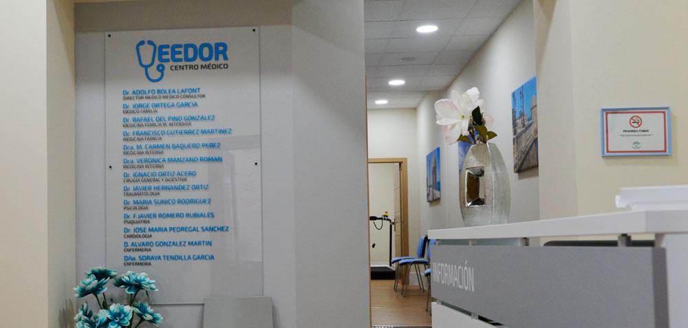 Rotulación centro médico