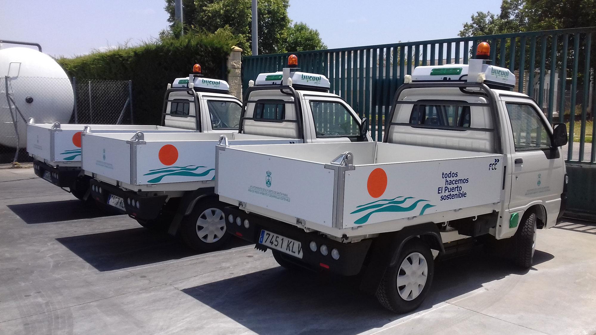Design for FCC vehicles from El Puerto de Santa Mar�a