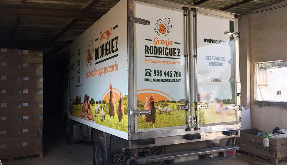 Trucks design for Rodriguez farm