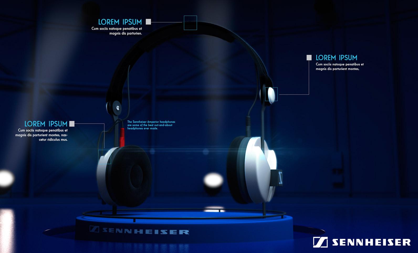 Headphones Sennheier