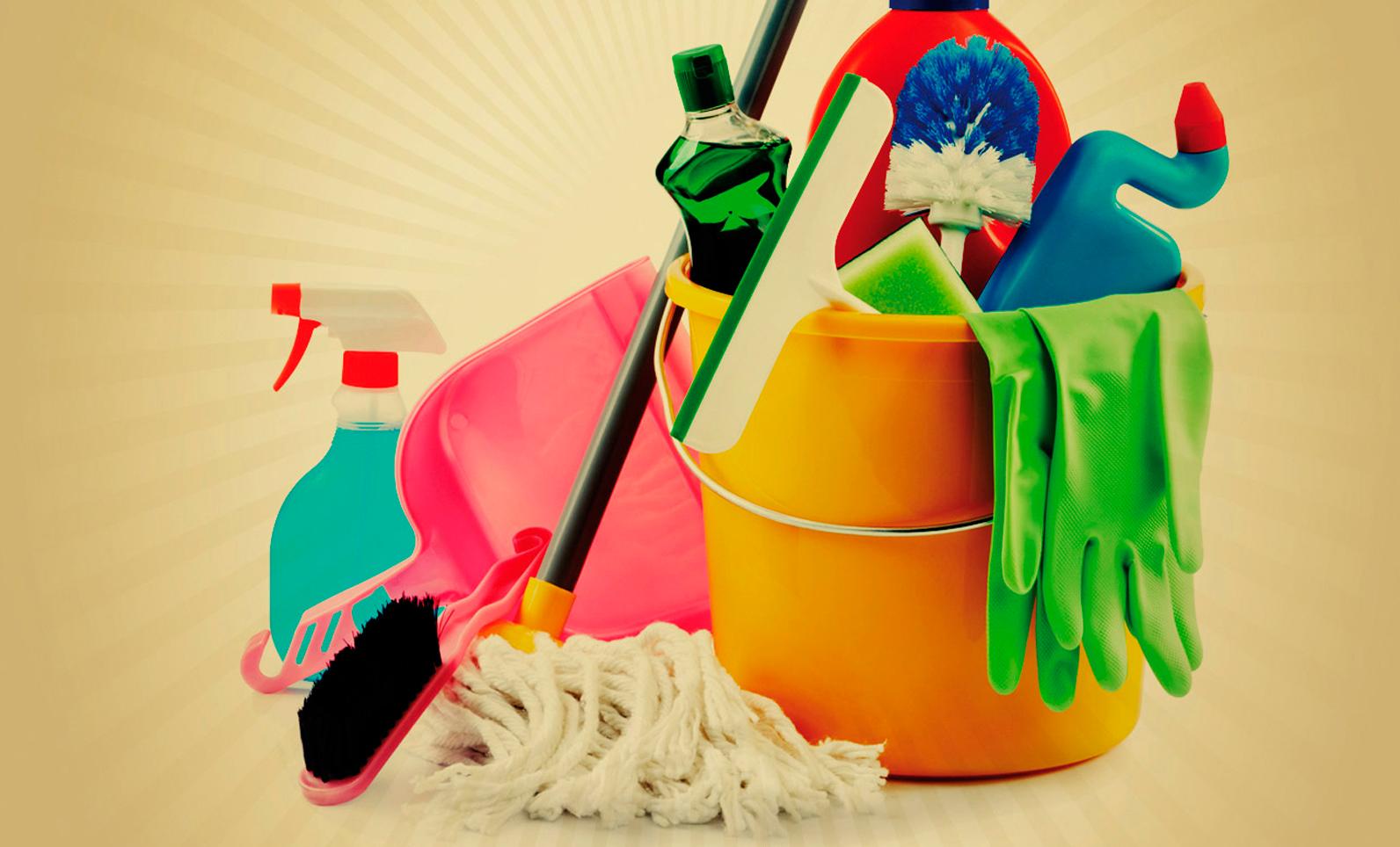 Flyer servicio de limpieza