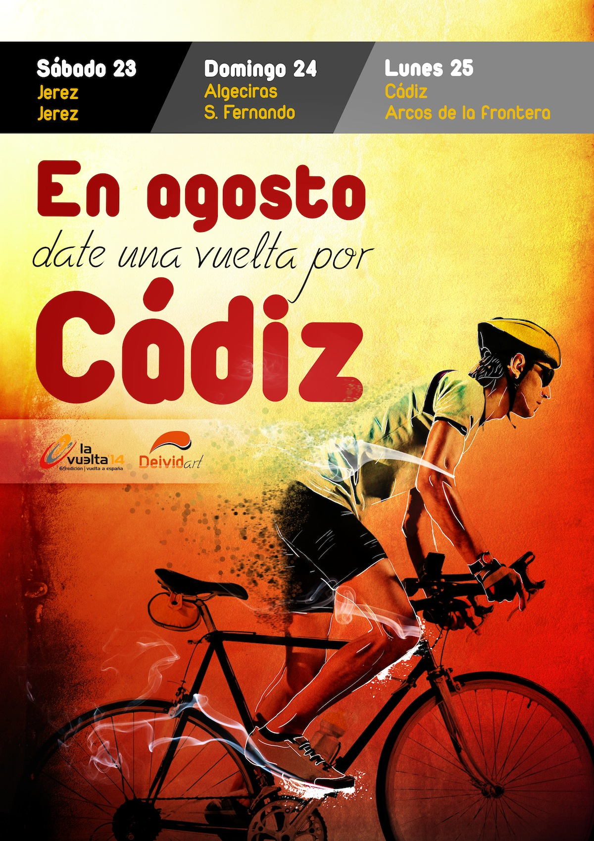 Tour of Spain 2014 Poster