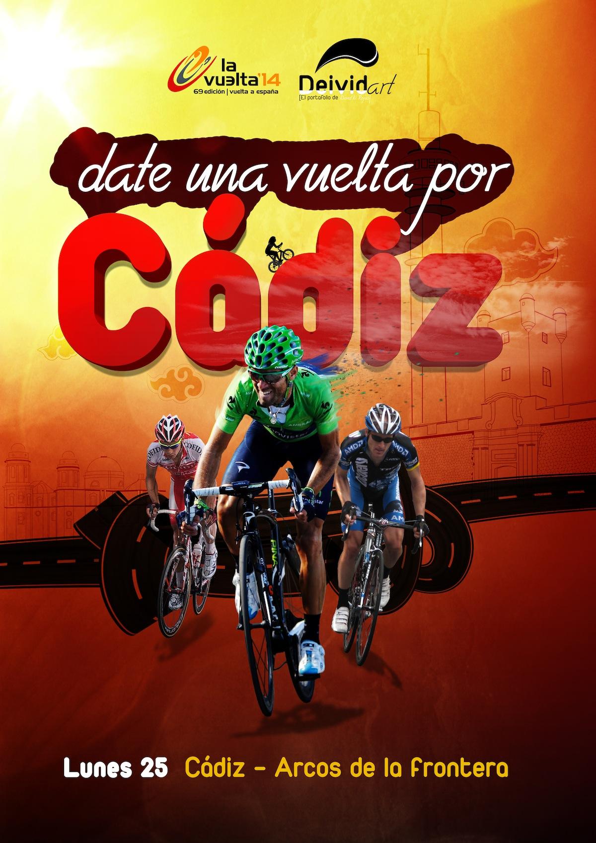 Cartel Vuelta ciclista España 2014