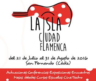 Cartel - La Isla Ciudad Flamenca