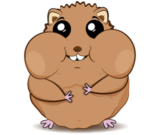 Hamster illustration