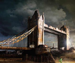 Matte Painting: Two Towers - London