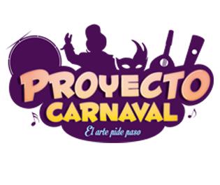 Logotipo Proyecto Carnaval - El arte pide paso