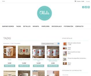 Desarrollo web - Ohlala detalles