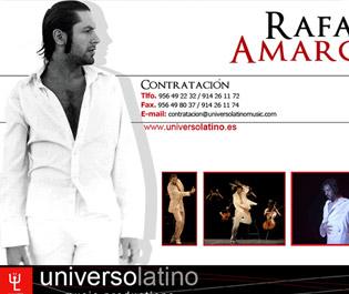 Web oficial Rafael Amargo