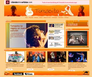 Web de Tomasito