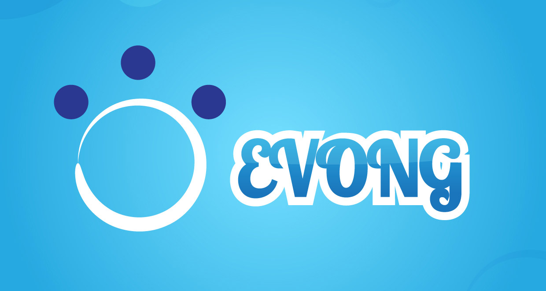 Logotipo Videojuegos Evong