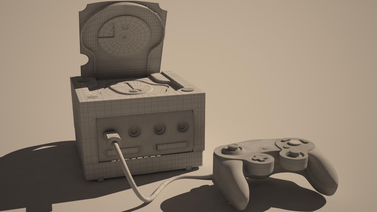 Gamecube modelling 3D
