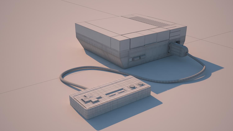 Nintendo modelling 3D