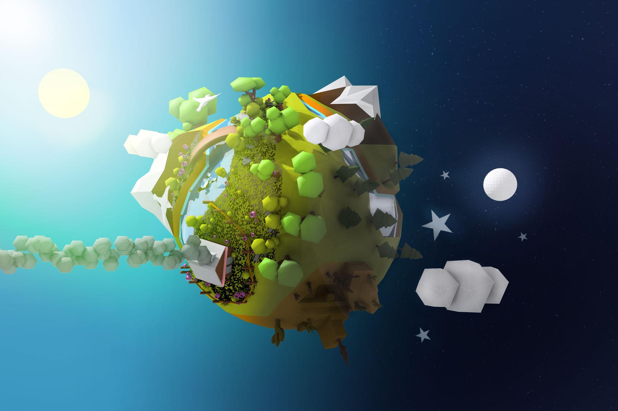 Polygon Planet