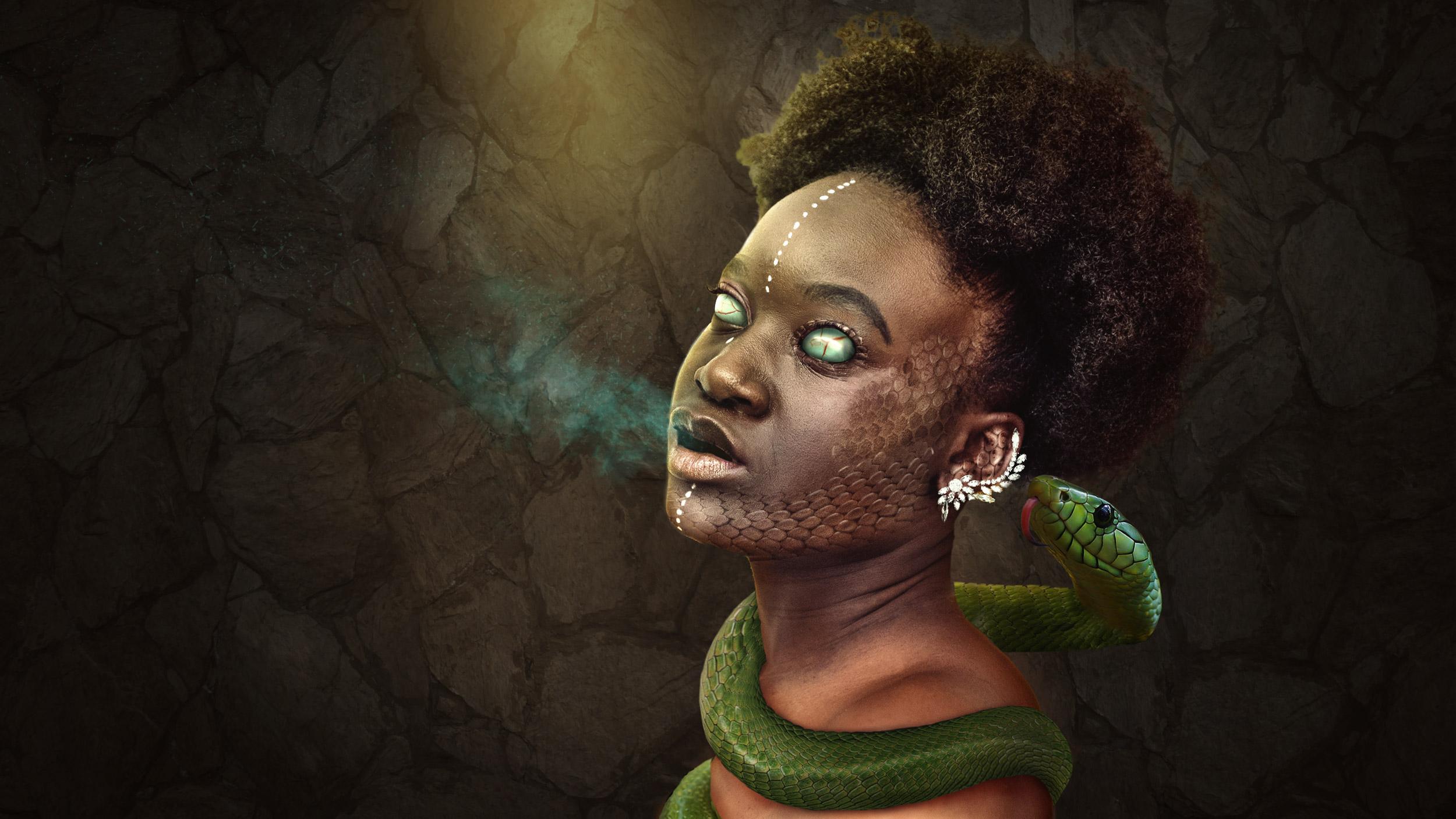 Snake possession