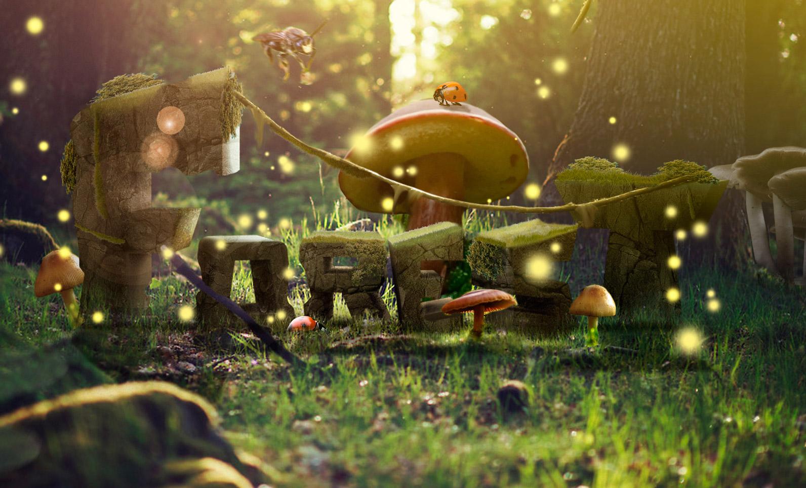 Typo Mushroom