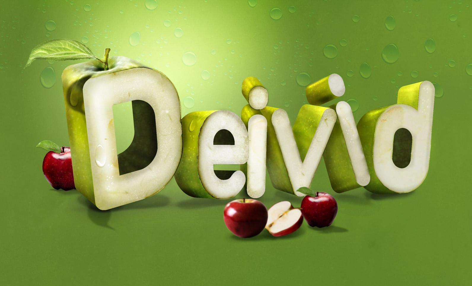 Typografía - Typo fruits