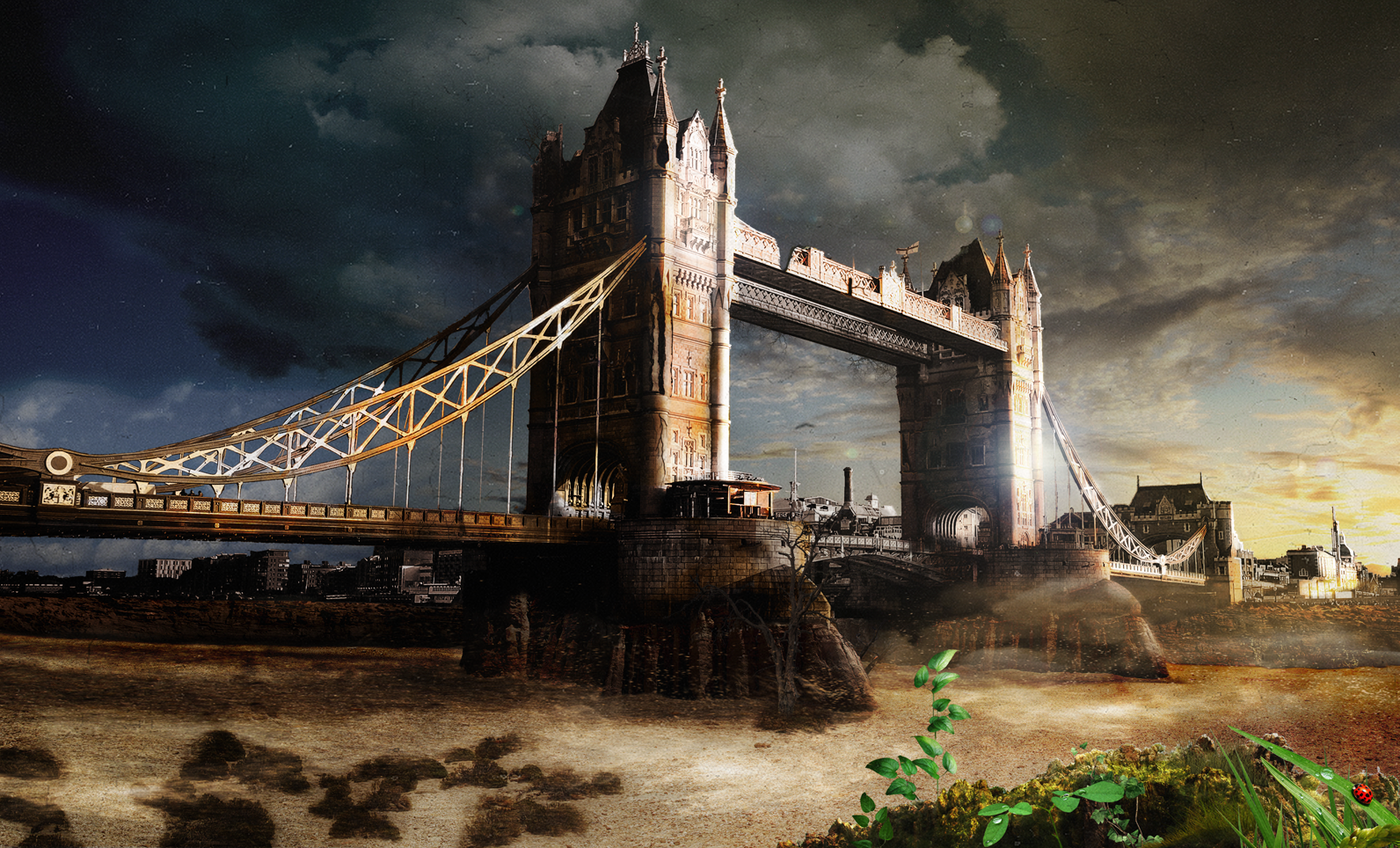 Matte painting Londres