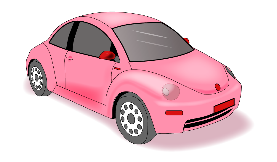Ilustración coche Bettle