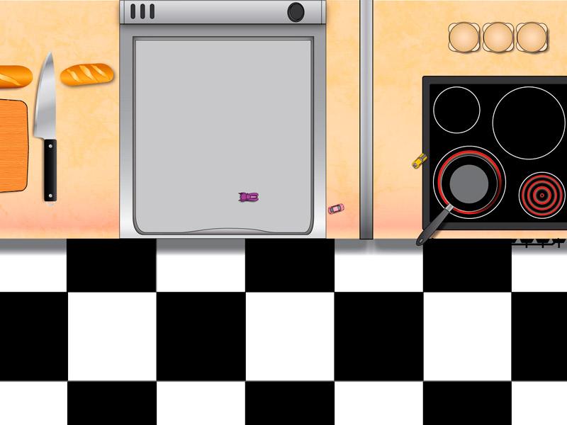 Design kitchen track
