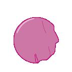 Graphic element bubble gum