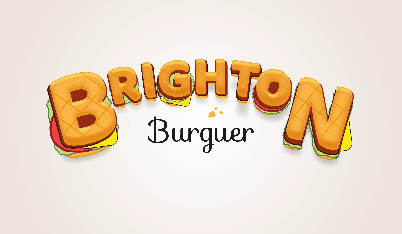 Burguer Brighton logotipo