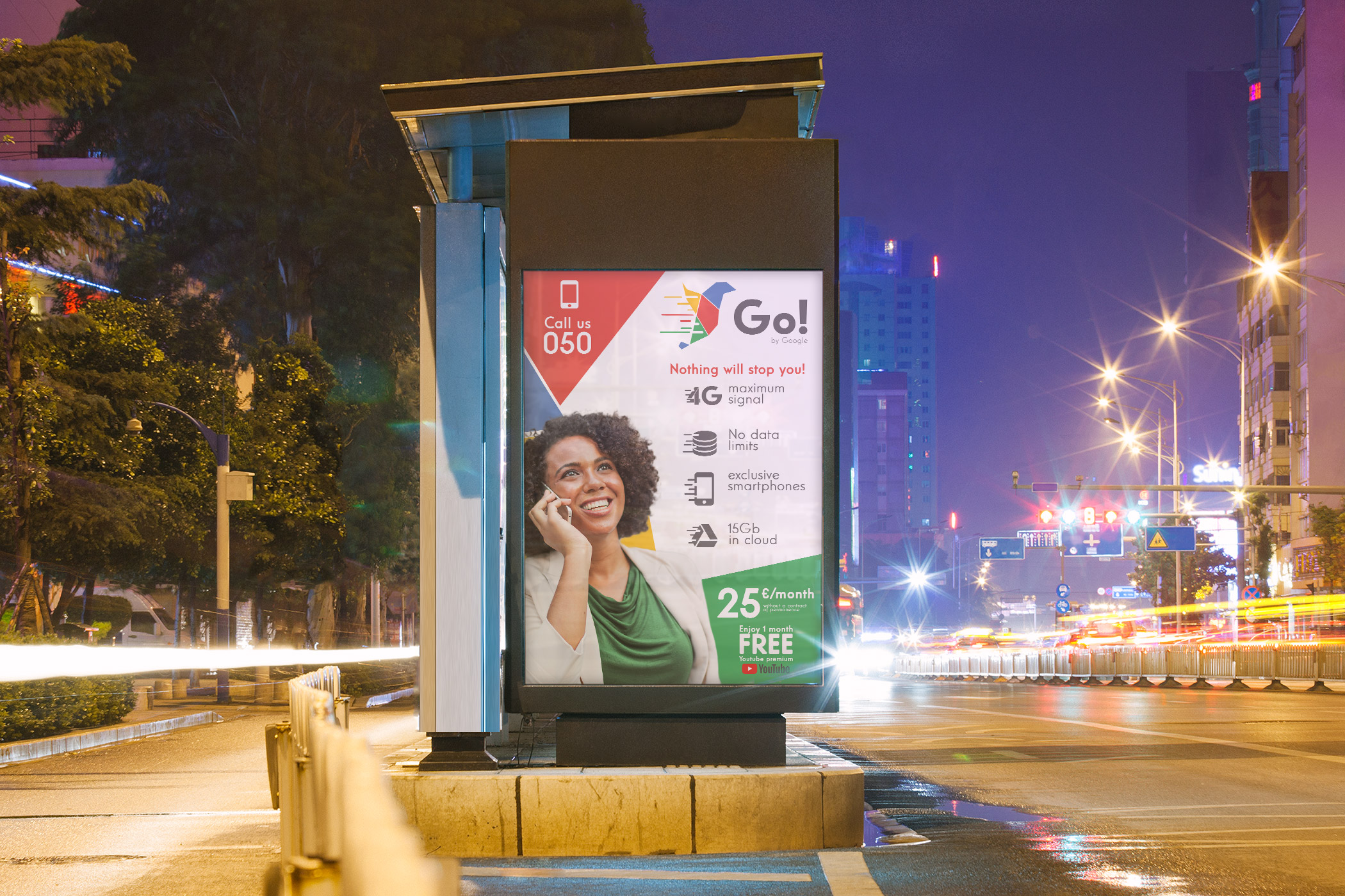 Mobile virtual operator Go! Google