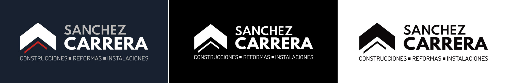Sanchez Carrera logotipo versiones