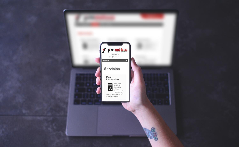 Diseño y desarrollo web - Jiromática